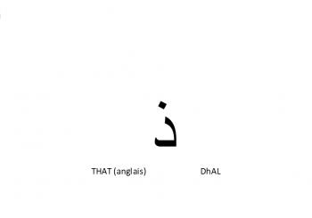 comment prononcer correctement la lettre ذ de l'alphabet arabe ?